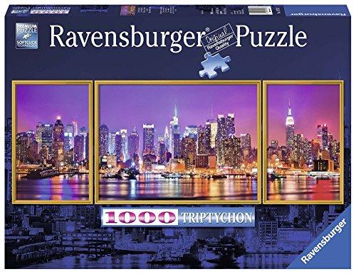 Ravensburger 19792 - Trittico di New York Panorama Puzzle, 1000 Pezzi, Modelli/Colori Assortiti, 1 Pezzo