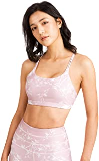 Women's Sport Bra Yoga Pants TINLUNG Yoga Bras For Women Sports Bra Crop Top Anti-Sagging Bras Printing Pink