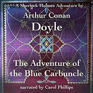 The Adventure of the Blue Carbuncle cover art