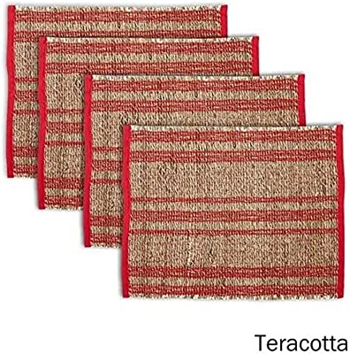 Ladelle Loma Placemat, Terracotta