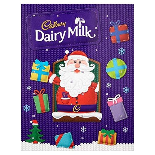 Cadbury Milchprodukte Adventskalender90g