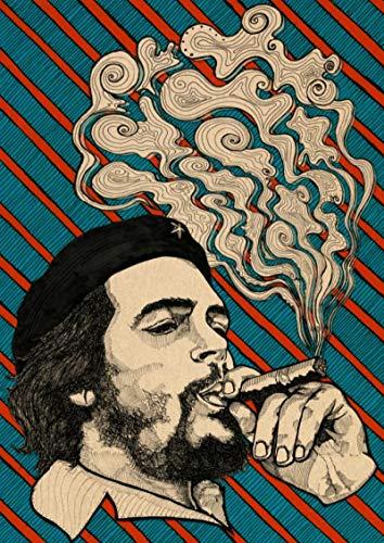 shuimanjinshan Póster Che Guevara Carteles de Pintura en Lienzo e Impresiones Imagen de Arte de Pared para la decoración del hogar de la Sala de Estar(JQ-1940) 40x50cm Sin Marco