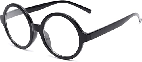 Readers.com Reading Glasses: The Architect Reader, Plastic Round Style for Men and Women