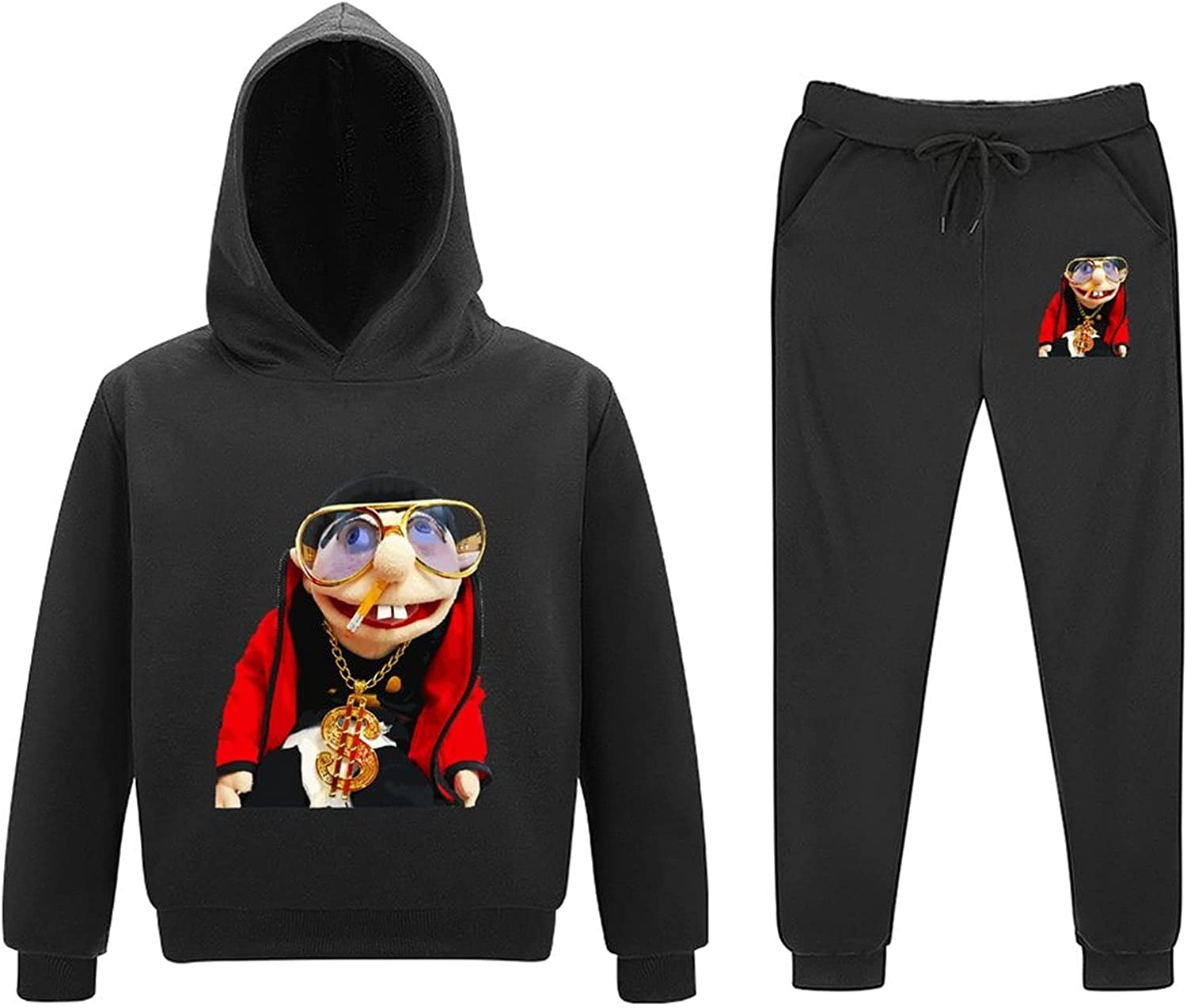Sm-l Superior Jef-fy Youth Sweater Set Fashion Sports latest Casual Hooded Anime
