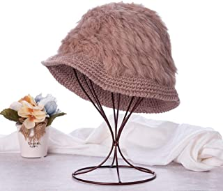 Knitted Hats for Women Bowl Cap Cute Type Dome Foldable Fisherman Hat