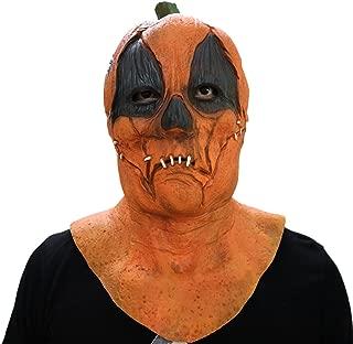 New Halloween Pumpkin Latex Mask Scary Clown Mask