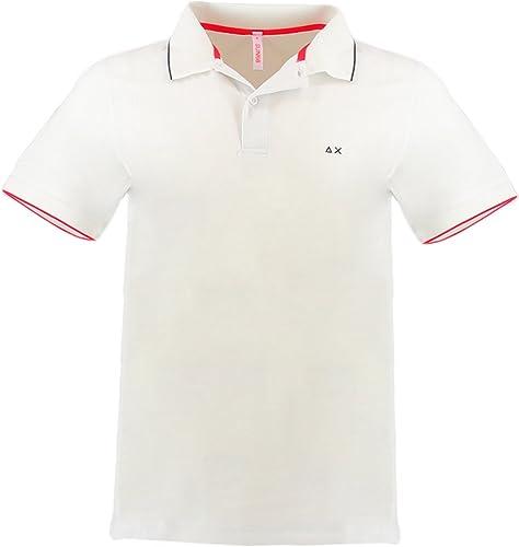 Sun 68 stretch polo shirt XXXL