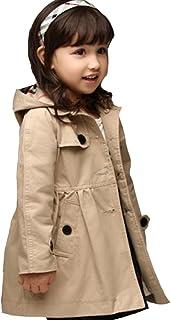 キッズ ジャケット コート 子供コート スプリングコート フード付き キッズコート  春トレンチコート 春にピッタリ 子供服 子供コート キッズ服 女の子服