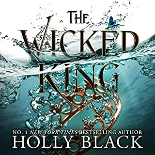 The Wicked King      The Folk of the Air, Book 2               By:                                                                                                                                 Holly Black                               Narrated by:                                                                                                                                 Caitlin Kelly                      Length: 10 hrs and 20 mins     214 ratings     Overall 4.8