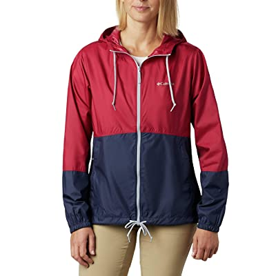 Columbia Flash Forwardtm Windbreaker (Red Orchid/Nocturnal/Cirrus Grey) Women