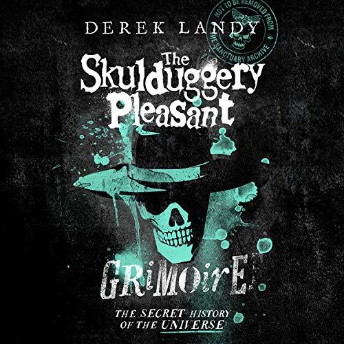 Couverture de The Skulduggery Pleasant Grimoire