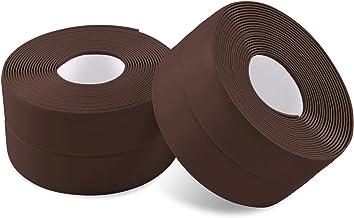 2 rollen Mildewproof Waterdichte Gap Tape PVC, Caulk Strip Sealing Tape voor Keramische tegels, Keuken, Badkamer, Toiletst...