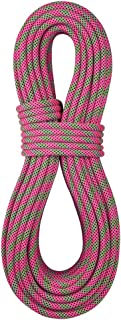 product image for BlueWater Ropes 9.7mm Lightning Pro Standard Dynamic Single Rope (Pink/Green, 80M)