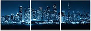 Asheart Wall Art San Francisco Skyline Poster Canvas Prints Pictures Paintings Home Decor Decorations Ready to Hang(24''Wx72''H)