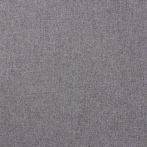 HF-Stoffe - Tela para tapizar Muebles (protección Antimanchas, 1,40 m de Ancho), Color Gris