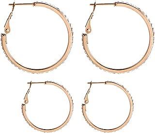 Best tungsten hoop earrings Reviews