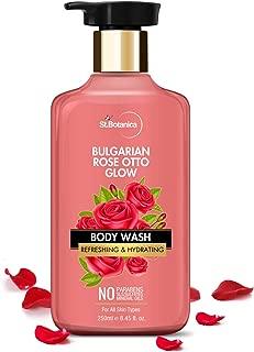 StBotanica Bulgarian Rose Otto Glow Body Wash | Refreshing & Hydrating | No Paraben & SLS - 250ml