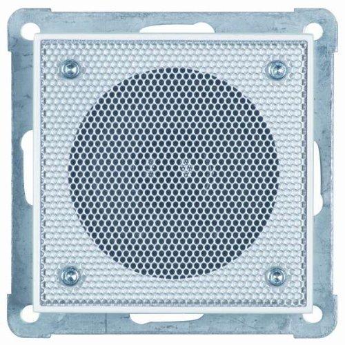 Honeywell Home PEHA MP3 AudioPoint Nova-Design Zusatzlautsprecher, Rahmen Reinweiß