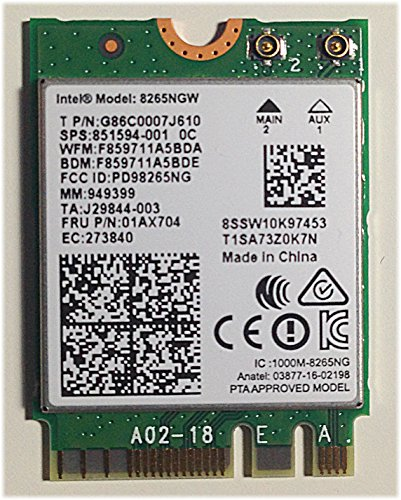 Intel Dual Band Wireless-AC 8265NGW
