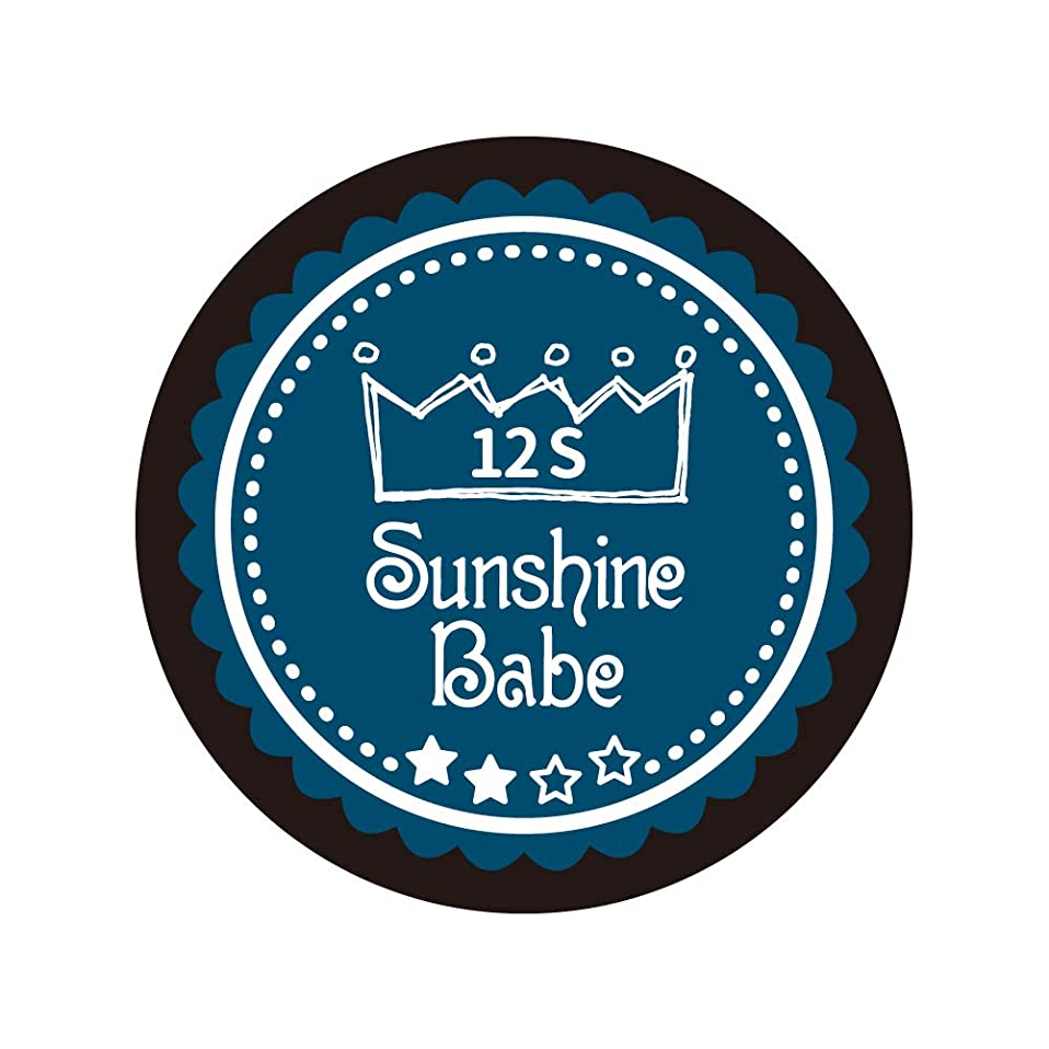 悪魔アレキサンダーグラハムベル気になるSunshine Babe コスメティックカラー 12S セイラーブルー 4g UV/LED対応