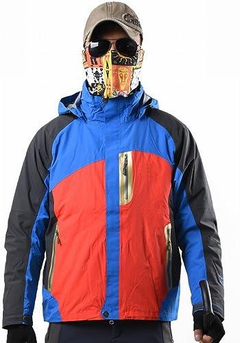 DIDIDD Exploration Base Male Et Femelle Coton Doubleure Camouflage Costume Triple Alpinisme VêteHommests,Un Homme,M