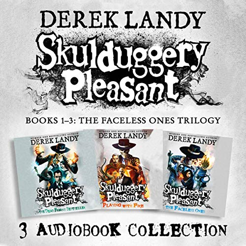 Skulduggery Pleasant: Audio Collection, Books 1-3 Audiobook By Derek Landy cover art