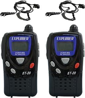 F.R.C EXPLORER エクスプローラ 特定小電力トランシーバー2台セット ET-20X