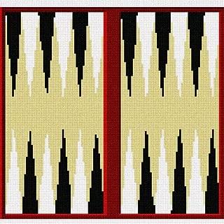 pepita Backgammon Needlepoint Canvas