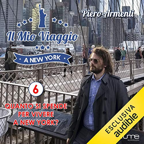 Quanto si spende per vivere a New York? audiobook cover art