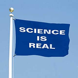 VinMea Flag Political Banner 3x5 Feet Science is Real Flags for Yard Garden Outdoor Decoration
