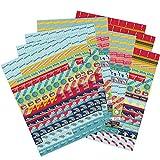 Paquete de Pegatinas para Agenda y Calendario de Boxclever Press con Temática Escolar. 1152 Pegatinas de Recordatorio. Coloridos Stickers Autoadhesivos para Destacar Eventos Escolares y Planificar.