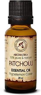Patchouli Huile Essentielle 20ml - Pogostemon Cablin - Indonésie - Huile de Patchouli 100% Naturelle - Bonne pour Aromathé...