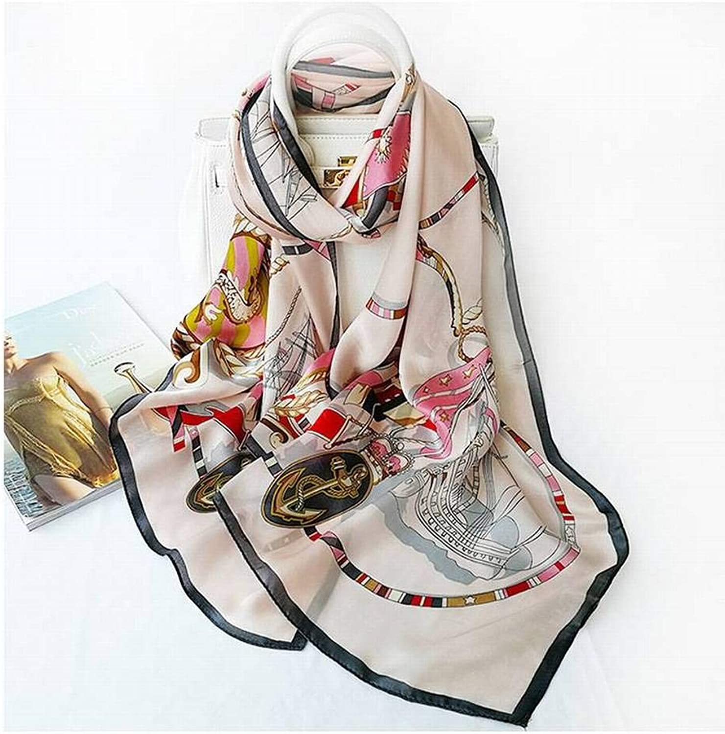 WJS Elegant Ladies, Cgreymere, Women, Warm, Plaid, Long, Autumn and Winter, Outdoor, Multi-Functional Fgreyion, Wild, Warm, Shawl, Scarf, Gift