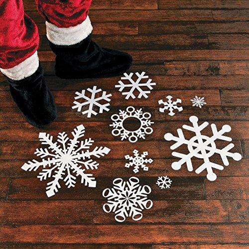 Fun Express Snowflake Floor Decals