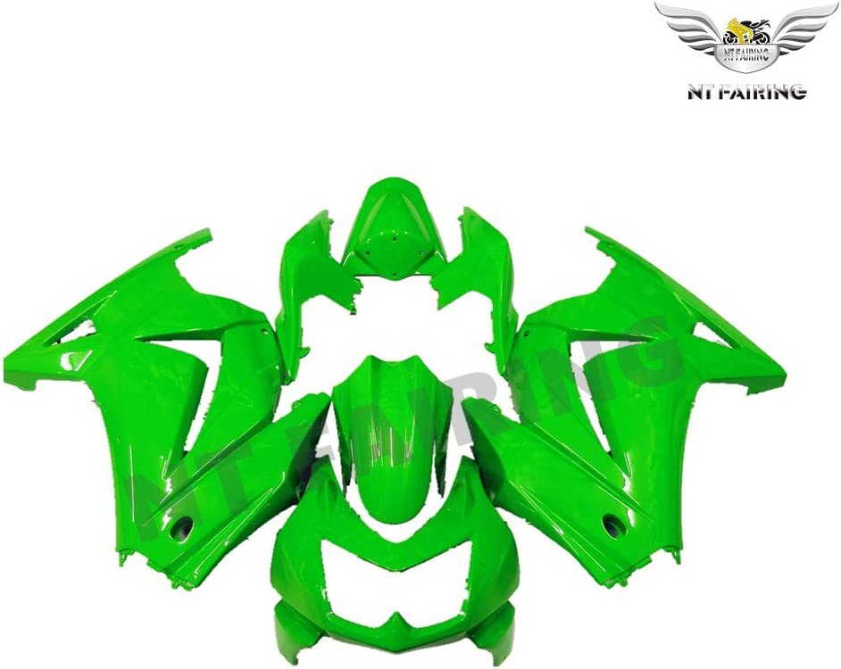 New New product!! Green Fairing Fit Max 50% OFF for Kawasaki Ninja 2008-2012 EX250 250R In