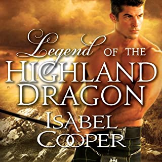 Legend of the Highland Dragon audiobook cover art