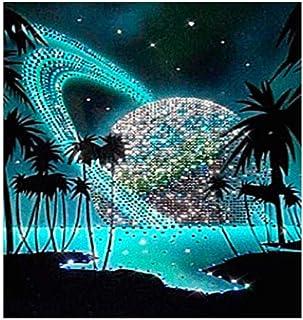 WACYDSD Puzzle 1000 Piezas Cielo Estrellado Coco Verde Mar Oceano Juego De Rompecabezas Clásico Bricolaje Juguete De Madera Decoración para El Hogar