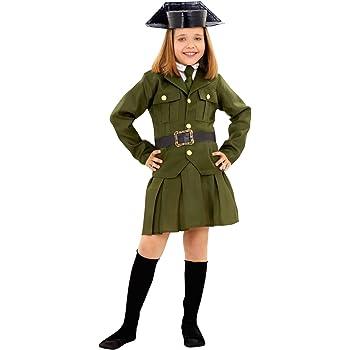 Boys Toys Disfraz de Guardia Civil de Niña (5-6 años): Amazon.es ...