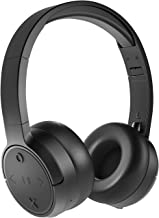 JAM Already There-HX-HP101 Wireless Headphones – Bluetooth Compatible, Foldable, Stylish Over The Ear Black Headphones