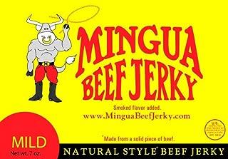 Mingua Mild Beef Jerky - Three 7oz Bags