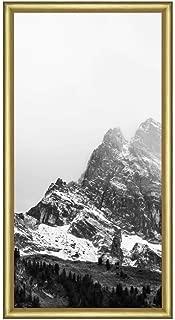 Frame It Easy 5 x 10 Gloss Gold Metal Frame (Ashford)