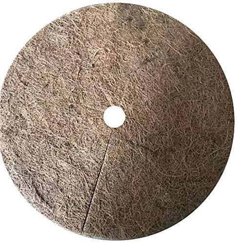 Cubierta de fibra de coco, 10 unidades, protección contra heladas de invierno para plantas, protección de invierno para jardín, maceta, plantas, cubo, protección de invierno, varios tamaños (30 cm)