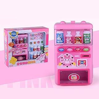 Niños Máquina expendedora electrónica Juguete simulado Máquina expendedora Juguete Rompecabezas Beber Pretender Juego de juguetes Educación