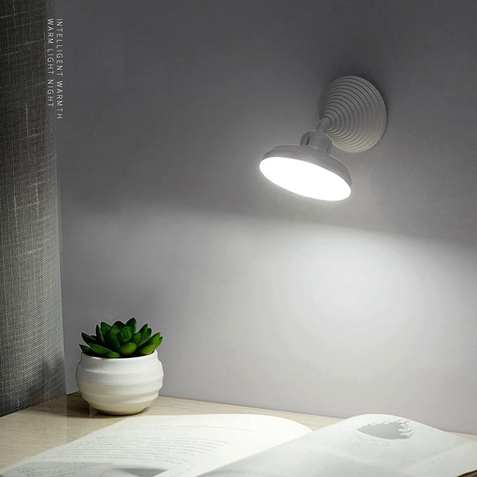 Kstyhome D1 Induktionslampe für den menschlichen Körper 360 ° drehbare Infrarot-Induktions Lichtsteuerung Nachtlicht Schlafzimmer Gang Korridor USB-Ladelampe