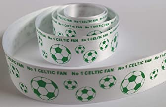 Celtic Champions 38mm wide satin ribbon Available in various lengths cake ribbon