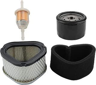 Mckin GY20574 Air Filter + AM125424 Oil Filter + AM116304 Fuel Filter fits John Deere LT133 LT155 LT150 STX30 STX38 STX46 LX255 LX176 Scotts S1642 Lawn Mower