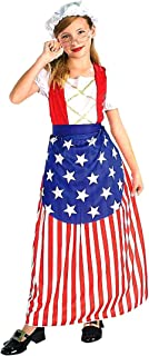 Forum Novelties Patriotic Party Betsy Ross Costume, Child Medium