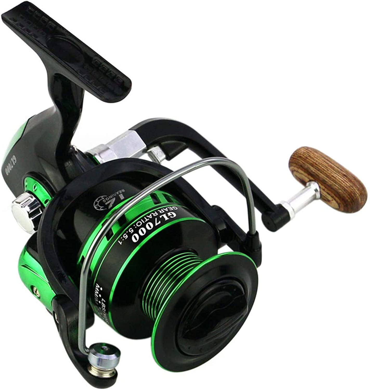 Fishing Reels Spinning Reels Freshwater Saltwater Fishing Reel 12 + 1BB Ball Bearing Spinning Reel Left Right Replaceable Fishing Reel