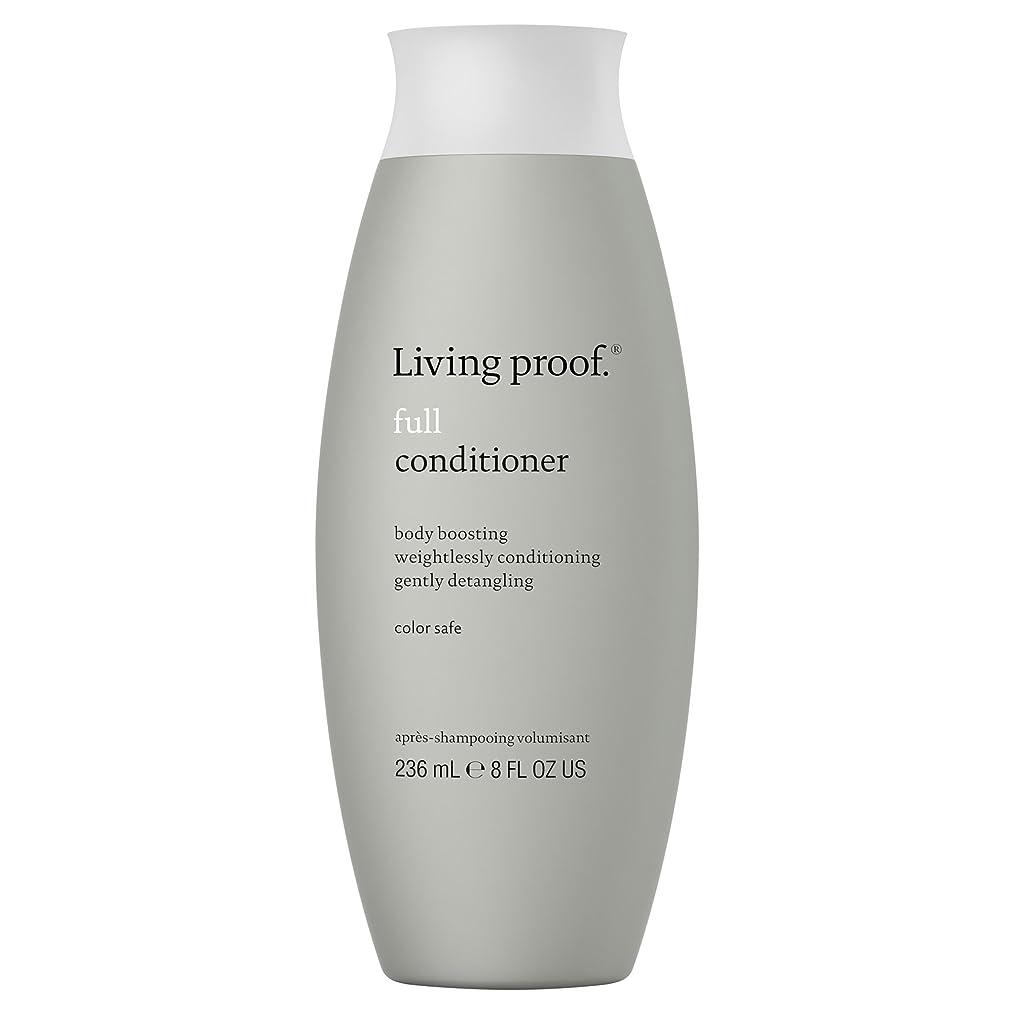 文字冷凍庫預言者生きている証拠フルコンディショナー236ミリリットル (Living Proof) (x6) - Living Proof Full Conditioner 236ml (Pack of 6) [並行輸入品]