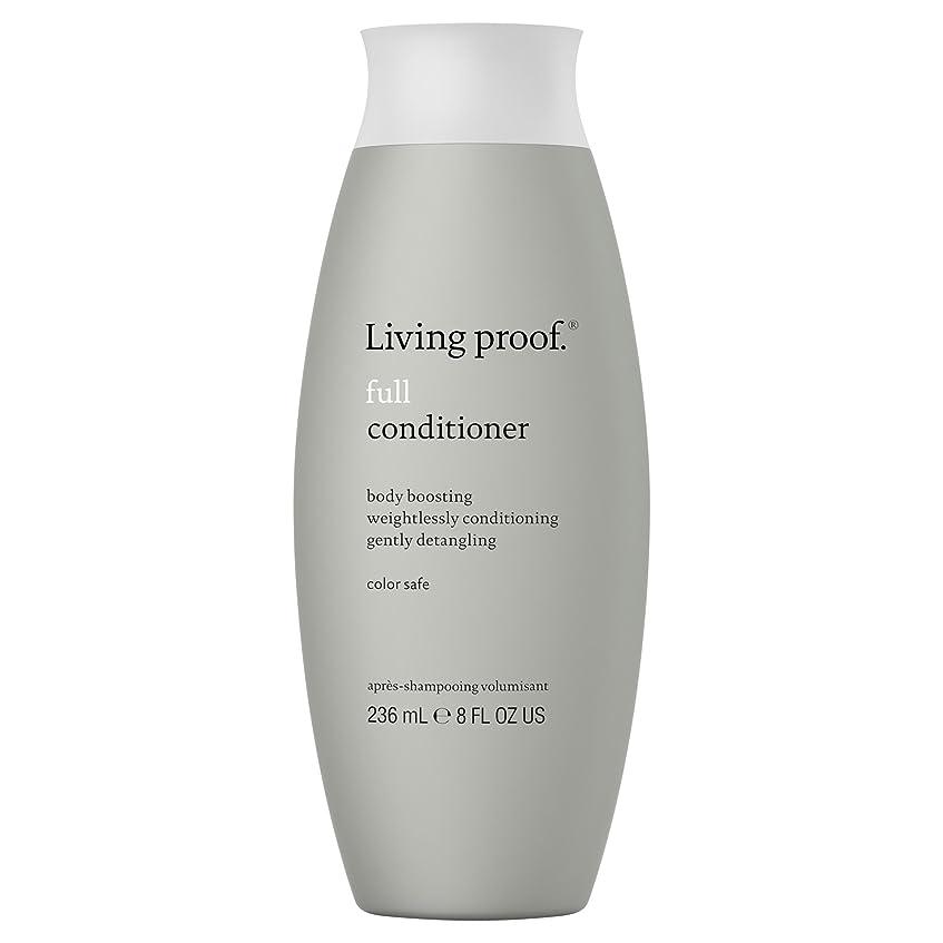 成熟したオーストラリア人品生きている証拠フルコンディショナー236ミリリットル (Living Proof) (x2) - Living Proof Full Conditioner 236ml (Pack of 2) [並行輸入品]